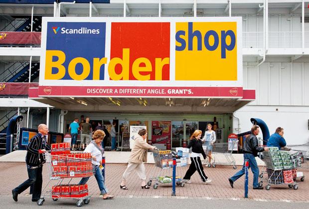 calles bordershop tyskland