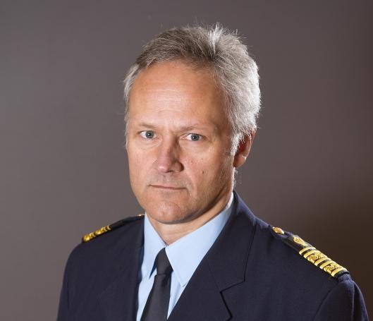 Länspolismästare Jarl Holmström Foto: Lars Hedelin
