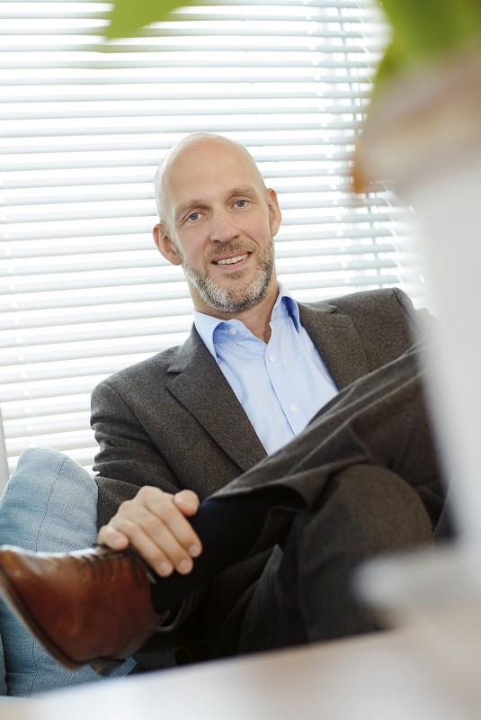 Johan Florén, kommunikationschef på AP7. Foto: Peter Knutson