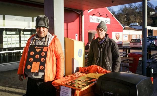 Mihai Stoica och Anders Stenberg. Foto: Edvin Rahmanovic