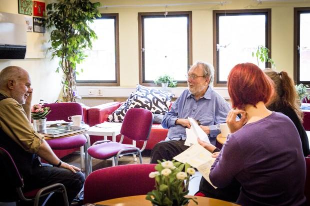 Kamratstödsverksamheten i Skarpnäck är ett exempel på en social verksamhet. Foto: Nathalie C. Andersson
