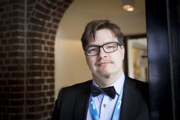Arvid Leimar, UNF. Foto: Nathalie C. Andersson