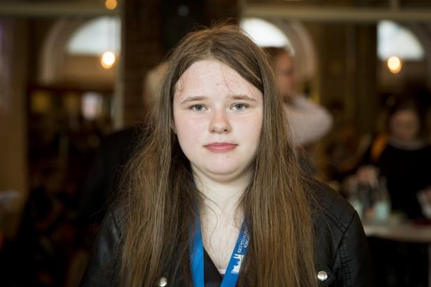 Caroline Pettersson Kirik, UNF. Foto: Nathalie C. Andersson