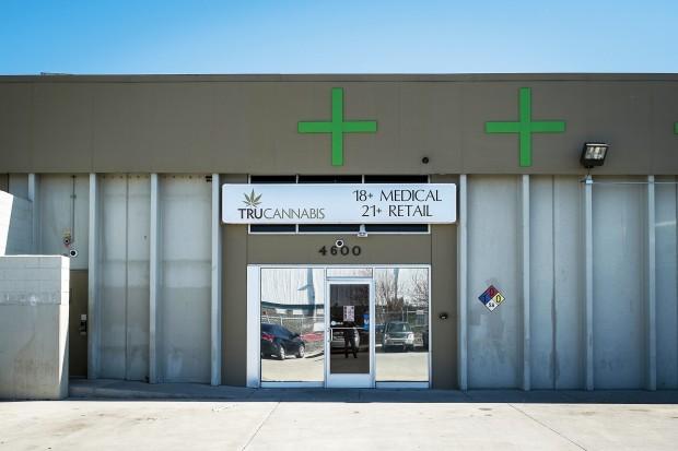TruCannabis, en av cannabisbutikerna i Colorado. Foto: Pierre Andersson