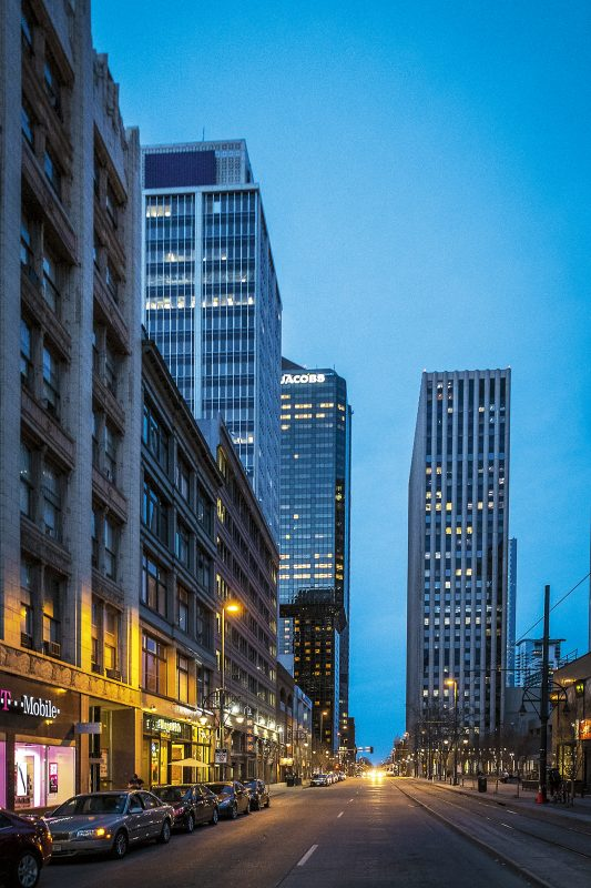 Stadskärnan i Denver. Foto: Pierre Andersson
