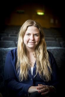 Olivia Trygg, generalsekreterare för Trygga barnen. Foto: Nathalie C. Andersson