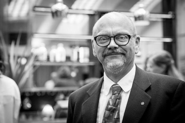 Anders A. Aronsson, ordförande för Tollare folkhögskolas styrelse. Foto: Nathalie C. Andersson