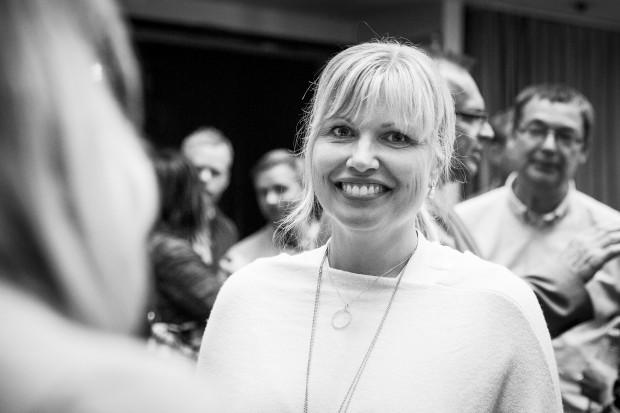 Ann-Therèse Enarsson, chef för samhällskontakter och forskning på Systembolaget. Foto: Nathalie C. Andersson