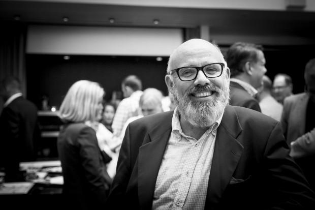 Lars Molin, ledamot i styrelsen för Våra Gårdar samt styrelsen för Tollare folkhögskola. Foto: Nathalie C. Andersson