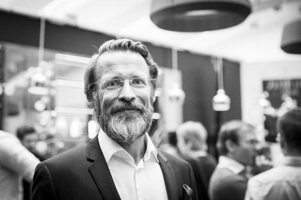 Ludwig Alholt, vd för Miljonlotteriet. Foto: Nathalie C. Andersson