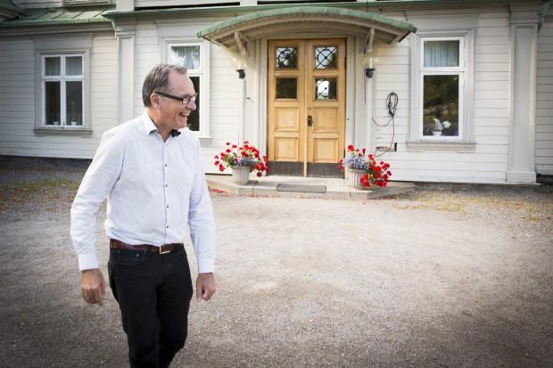 Mats Kempinsky, rektor för Tollare folkhögskola. Foto: Nathalie C. Andersson