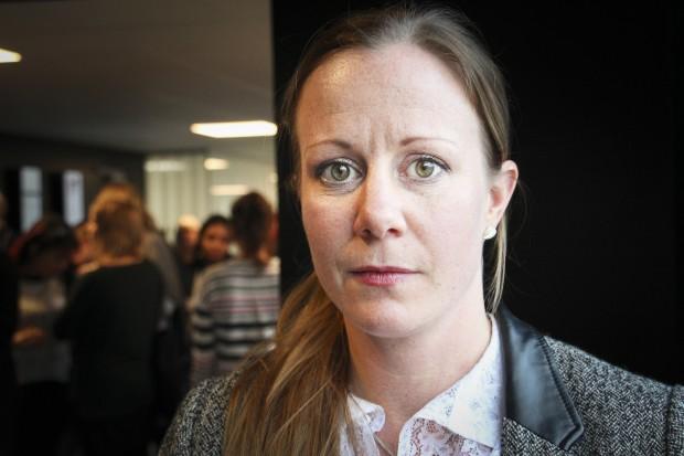 Linda Nilsson, generalsekreterare i World Federation Against Drugs, WFAD. Foto: Ulrica Ambjörn