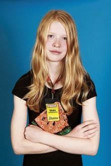 Elvira Oberger, juniorreporter. Foto: Torkel Edenborg