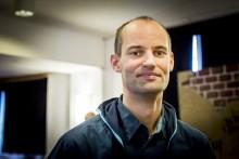 Andreas Johansson från Demokratipatrullen. Foto: Nathalie C. Andersson