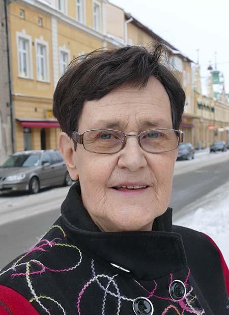 Eva-Britt Svensson. Foto: Ulrica Ambjörn.