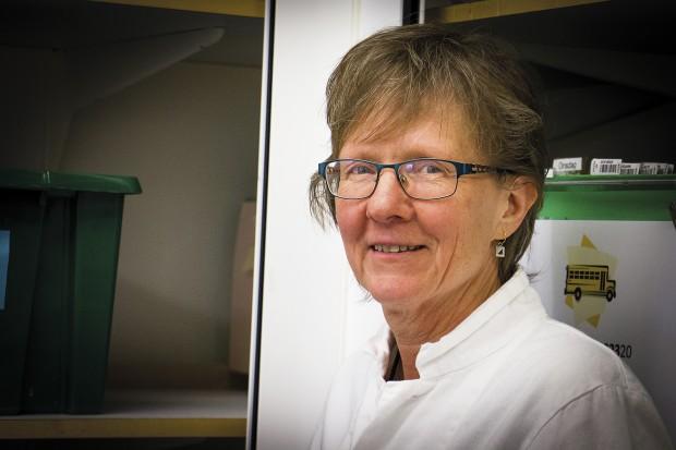 Margareta Skarp Runtegen, forensisk laborant på NFC. Foto: Eva Ekeroth
