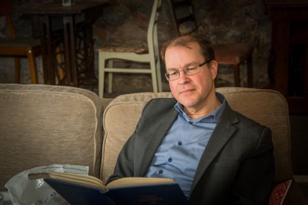 Magnus Andersson har intresserat sig för folkrörelsesånger sedan 1984. Foto: Nathalie C. Andersson