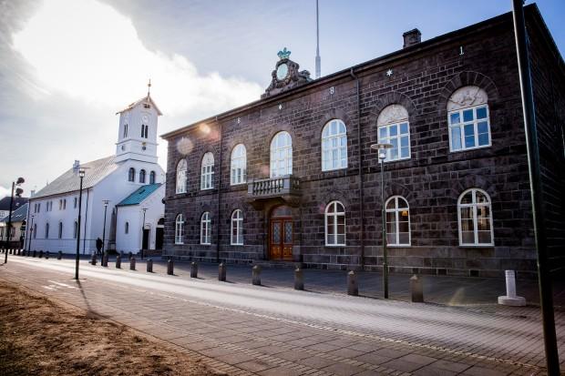 Alltinget i Reykjavik på Island. Foto: Nathalie C. Andersson