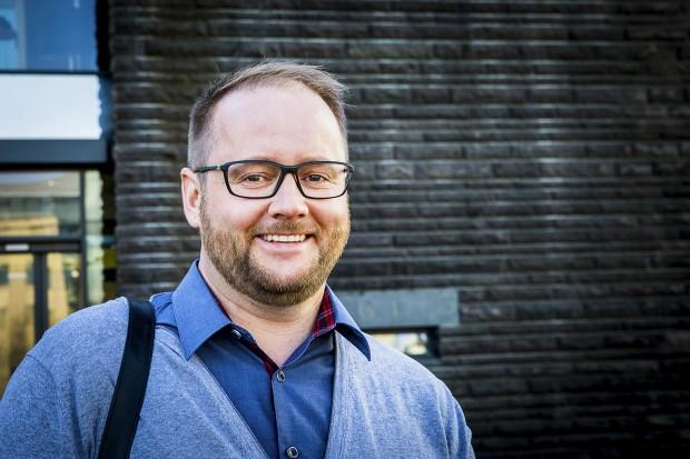 Hjálmar Bogi Hafliðason. Foto: Nathalie C. Andersson