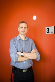 Rafn Jónsson, projektledare på Hälsodepartementet. Foto: Nathalie C. Andersson