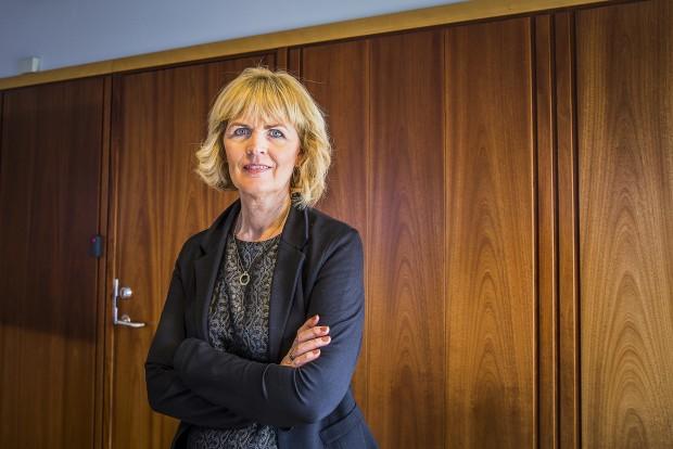 Sigrún ÓskSigurðardóttir är vice vid för det isländska alkoholmonopolet. Foto: Nathalie C. Andersson