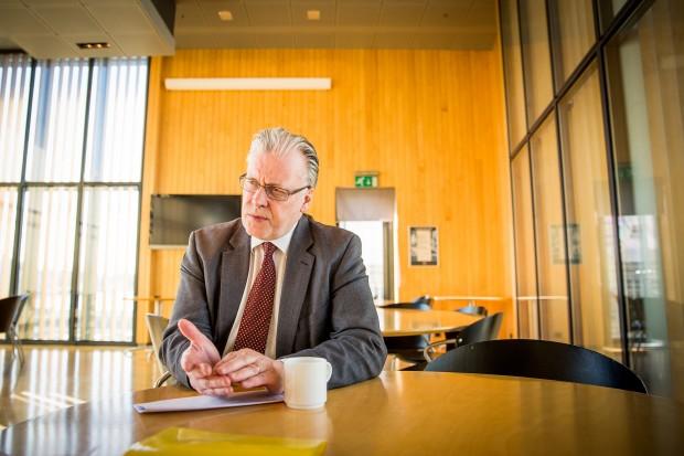 Ögmundur Jónasson har tagit ställning emot förslaget. Foto: Nathalie C. Andersson