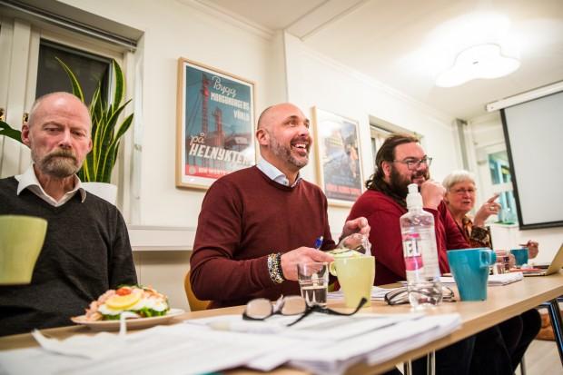På möte med IOGT-NTO-rörelsens riksstyrelse. Foto: Nathalie C. Andersson
