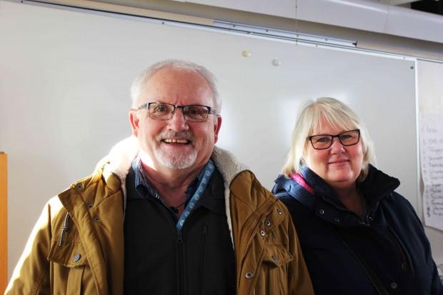 Rolf och Ing-Mari Olsson från Visby fick många nya intryck från seminariet om nya grupper. Foto: Eva Ekeroth.