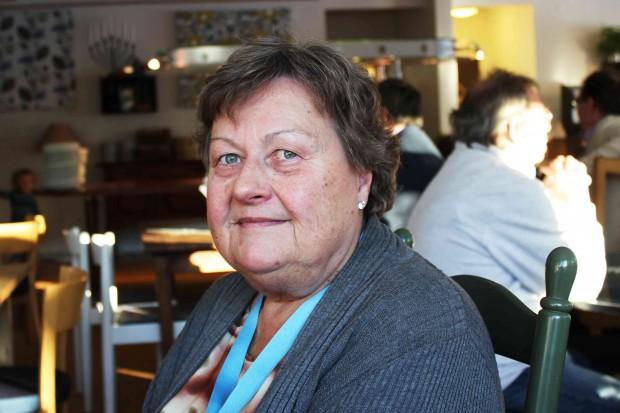 Christina Twerin från Västerhaninge är på Verksamhetsforum för tredje gången. Foto: Eva Ekeroth