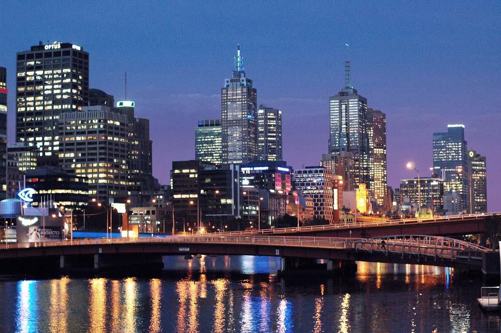 koppla upp Melbourne